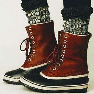 Free People Over the Knee Plaid Boot Socks